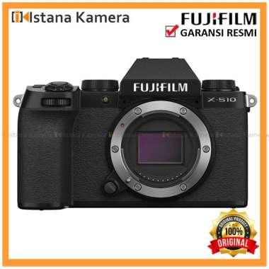 harga FUJIFILM X-S10 Mirrorless Digital Camera (Body Only) hitam Blibli.com