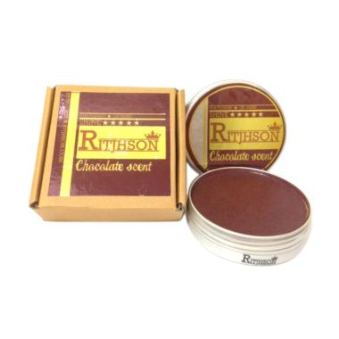 HARGA Ritjhson Chocolate Medium Slick Oilbased Pomade Terbagus