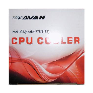 AVAN Cooling Fan Combo CPU Cooler