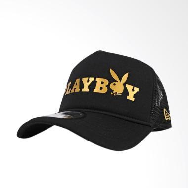 Jersi Clothing Mesh Trucker Playboy Topi Pria - Black 2fc57e426f