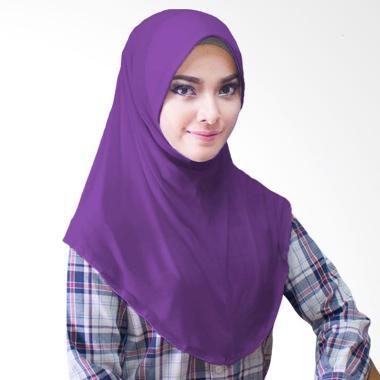 Milyarda Hijab Bergo Jersey Jilbab Instan - Ungu
