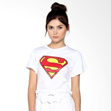 JCLOTHES Tumblr Tee Branded Superman Kaos Wanita - P... Rp 210.000 ...