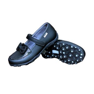 Kipper Type Adele Sepatu Anak Perempuan Slip on - Hitam