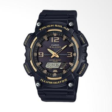 CASIO Jam Tangan Pria - Black Gold AQ-S810W-1A3VDF