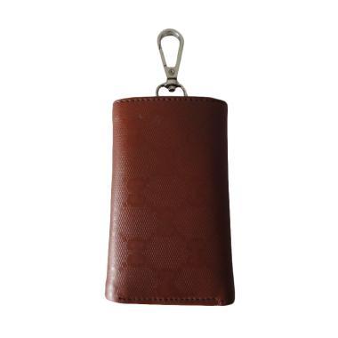 HBS Key Wallet Dompet Gantungan Kunci Mobil / Motor - Coklat
