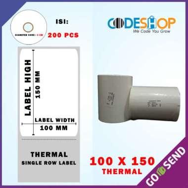 THERMAL LABEL 100X150 ISI 200 PCS