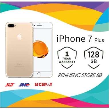 harga APPLE IPHONE 7 PLUS 128GB ORIGINAL FU GSM GARANSI TOKO 1 TAHUN Gold Blibli.com