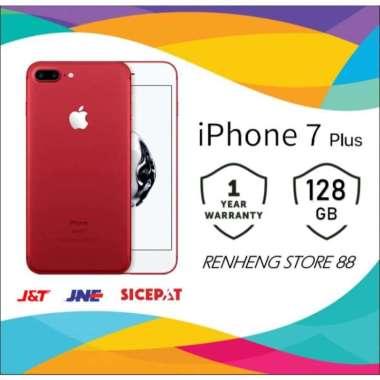 harga APPLE IPHONE 7 PLUS 128GB ORIGINAL FU GSM GARANSI TOKO 1 TAHUN Red Blibli.com