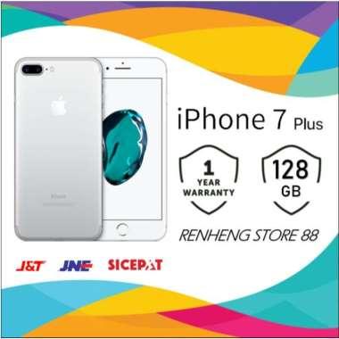 harga APPLE IPHONE 7 PLUS 128GB ORIGINAL FU GSM GARANSI TOKO 1 TAHUN Silver Blibli.com