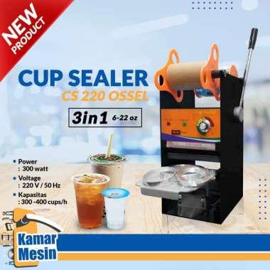 harga TERMURAH Mesin Cup Sealer 22OZ Press Gelas Tinggi 22oz Tutup Gelas Plastik OSSEL Blibli.com