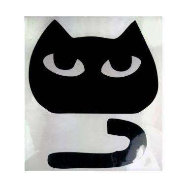 OEM Motif Kucing Saklar Lampu Cat Cute Decal Wall Sticker