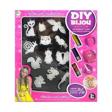 TSH DIY Bijou Fun Fashion Dress Up Kreatif Mainan Edukasi