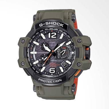 CASIO G-Shock Gravitymaster Jam Tan ... rmy Green GPW-1000KH-3ADR