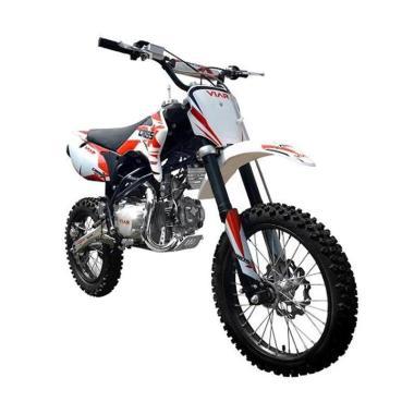 harga Viar Cross X 100 Mini Trail Sepeda Motor [OTR Jaboser] Red White Serang Blibli.com