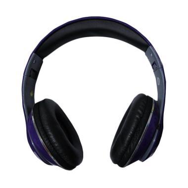 Monster TM-010 Beats by dr.dre Blue ... D Wireless Headset - Ungu