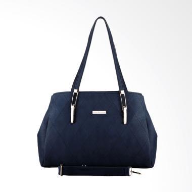 Nana Blanche 0001 Jalynda Kerja Premium Shoulder Bag Tas Wanita - Blue