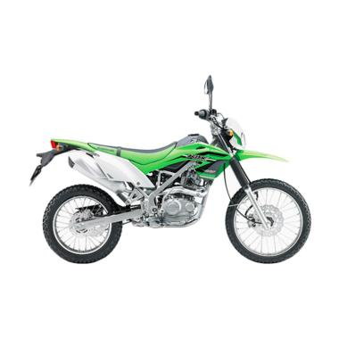 Kawasaki New KLX 150 Sepeda Motor - Green [OTR JABODETABEKSER]