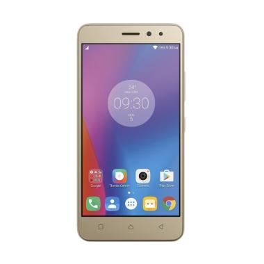 Lenovo Vibe K6 Power Smartphone - Gold [32GB/3GB/Garansi Resmi]