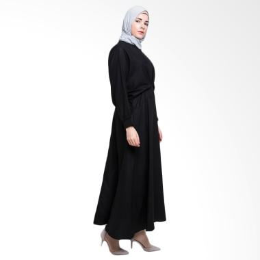 Allev Ramiza Dress - Hitam