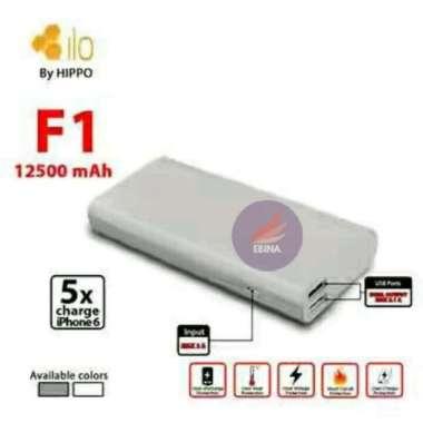 harga Jual POWERBANK HIPPO  HIPPO POWER BANK ILO F1 12500 MAH ORIGINAL GARANSI Murah Blibli.com