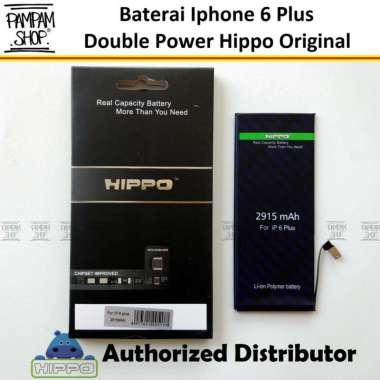 harga Baterai Hippo Double Power Original Apple Iphone 6 Plus 6+ Batre Batrai Dual Handphone HP Hipo Ori Blibli.com