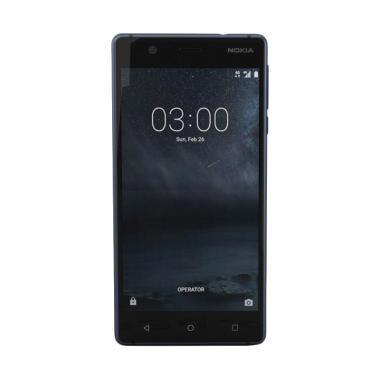 Nokia 3 Android Smartphone 2GB/16GB - Tempered Blue Garansi Resmi