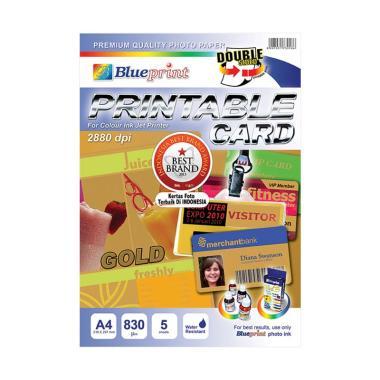Blueprint BP-PCA4830G Printable Card - Gold [A4]