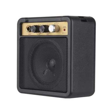 harga Elegan Amplifier Mini Gitar Elektrik 5W 6.5mm Headphone Jack - MaxP MA-5 - Ampli Mini Berkualitas Blibli.com