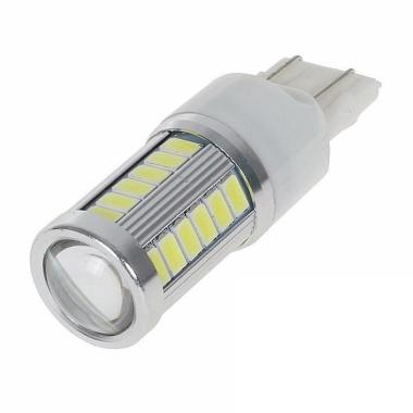 JMS Senja T20 7443 W21 33 SMD 5730 Lampu LED Mobil atau Motor - White