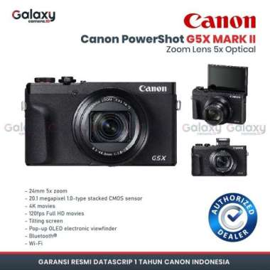 Canon PowerShot G5 X Mark II Kamera Pocket