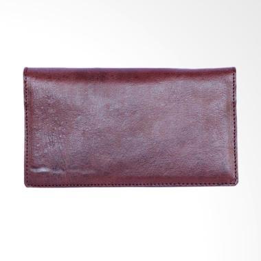 Kenes Leather Naya Dompet Wanita - Brown