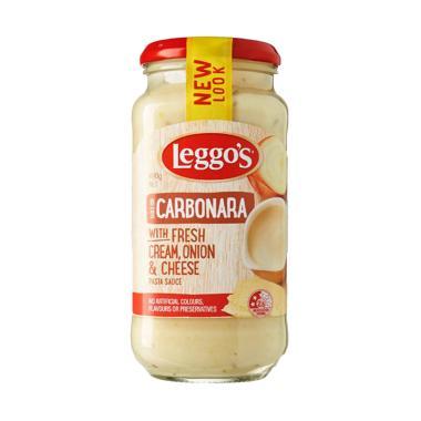 harga Leggos Carbonara with Fresh Cream, Onion & Cheese Pasta Sauce 490 gr Blibli.com