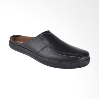 Yongki Komaladi Sepatu Pria - Hitam [HAS-521209]