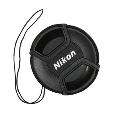 Nikon Lens Cap 77mm Tutup Lensa with Rope