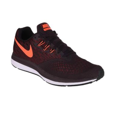 NIKE Men Running Zoom Winflo 4 Sepatu Lari Pria [898466-600]