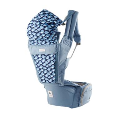 Pognae Orga Plus Hipseat and Baby Carrier	Blueberry | FREE BEBE BOCAS