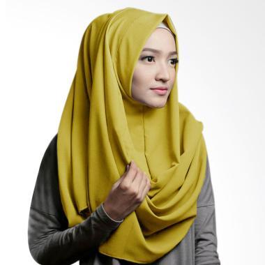 Pashmina Instan Oshi Sabrina Jilbab Instan - Hijau Lemon