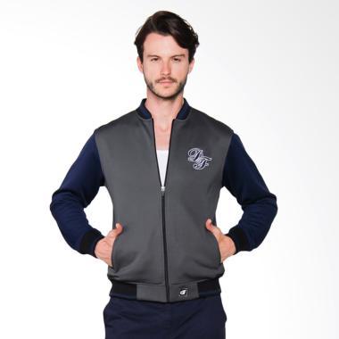 D&F CVC Jacket Pria - Grey [011037006]