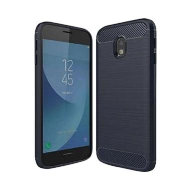 Ipaky Carbon Fiber Soft Series Casing For Samsung Galaxy J2 Pro
