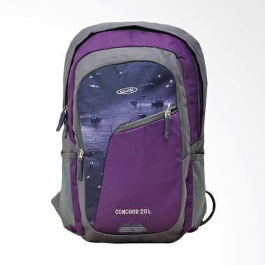 Click Backpack Laptop - Ungu BP03