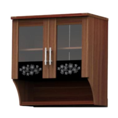 Super Furniture KSA 821-Modesto Atas Kitchen Set - Walnut