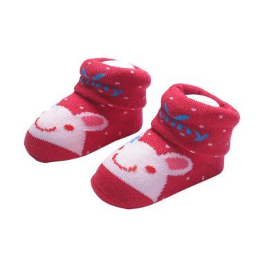 LustyBunny Baby Socks Rabbit Kaos Kaki Bayi - Pink