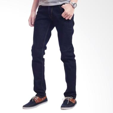 THREESIXTY JEANS Celana Jeans Slimfit Pria - Dark Blue