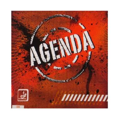 Spinlord Agenda OX Rubber Bat Tenis Meja - Red