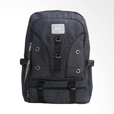 SANO Ring Man Backpack Tas Ransel Pria Distro Macho - Grey