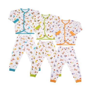 Velvet Junior Safari Baju & Celana  ... elan Pakaian Bayi [3 Pcs]