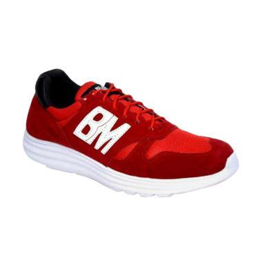 Jual Sepatu Sport Merah Pria Online - Harga Baru Termurah Maret 2019 ... 940c09ec56