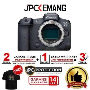 harga JPC KEMANG Canon EOS R5 Mirrorless Digital Camera Body Only Canon R5 Body Kamera Mirrorless GARANSI RESMI Black Blibli.com