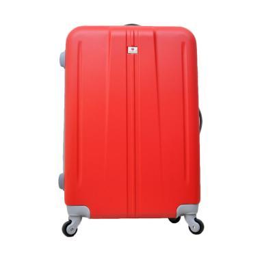 Polo Team 003 Tas Kabin Hardcase Koper - Merah [Size 20 Inch]