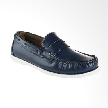 Bata Kosov Sepatu Slip On Pria - Blue [8319412]